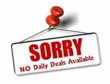 No Daily Deals Available