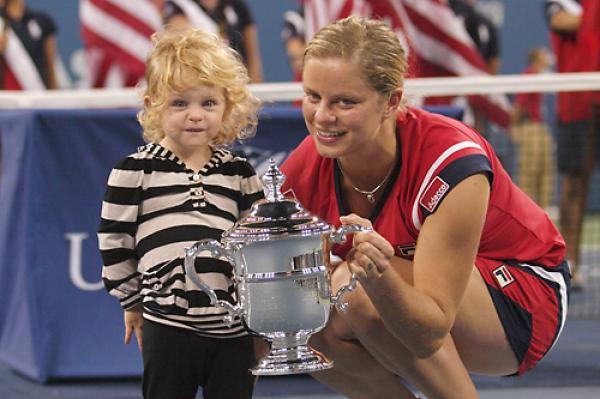 US Open  Champion - Kim Clijsters