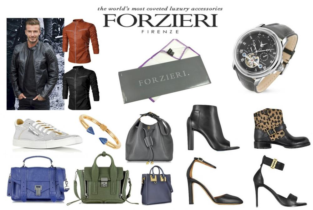 Forzieri is a store offering high end Italian and European goods from top designers such as; Dolce and Gabana, Prada, Valentino, and many more. Bags, scarves, hats, gloves, shoes, leather jackets, handbags, purses, wallets, jewelry, watches, sunglasses, dress shirts, ties, briefcases, and much more.