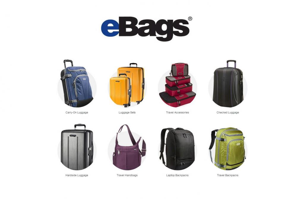 Experts in Bags, Luggage, Backpacks, and Accessories since 1999.  Free Shipping and Free Returns.